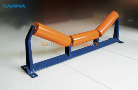 Trough roller4-conveyor idler,pulley,belt manufacturer-SANNA