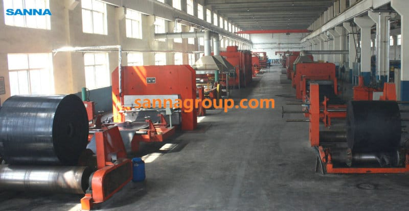 Equipment of conveyor belt1-conveyor idler,pulley,belt manufacturer-SANNA