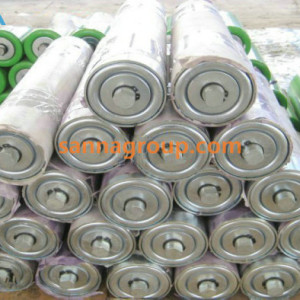 Stainless conveyor roller3-conveyor idler,pulley,belt manufacturer-SANNA