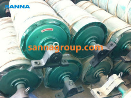 Motorized drive pulley
