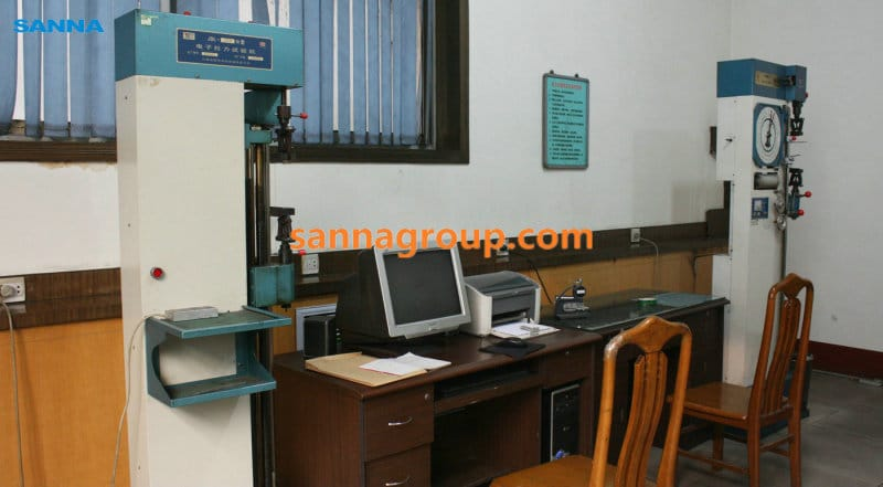 performance inspection equipment2-conveyor idler,pulley,belt manufacturer-SANNA