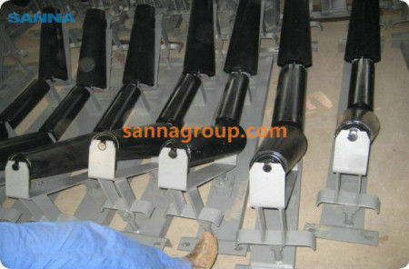 adjusting conveyor roller2-conveyor idler,pulley,belt manufacturer-SANNA