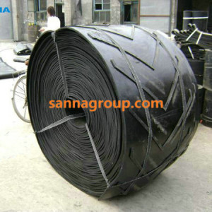 chevron conveyor belt1-conveyor idler,pulley,belt manufacturer-SANNA