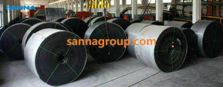 flame resistant conveyor belt4-conveyor idler,pulley,belt manufacturer-SANNA