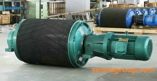 motorized conveyor pulley