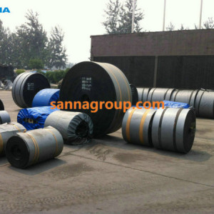 rubber conveyor belt3-conveyor idler,pulley,belt manufacturer-SANNA