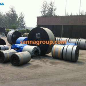 rubber conveyor belt4-conveyor idler,pulley,belt manufacturer-SANNA