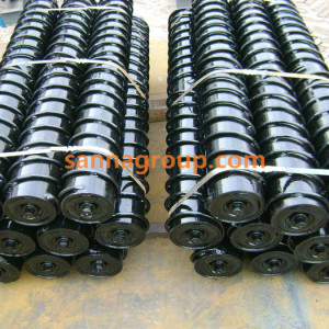 self-cleaning conveyor roller 1-conveyor idler,pulley,belt manufacturer-SANNA