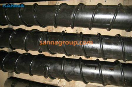 self-cleaning conveyor roller 3-conveyor idler,pulley,belt manufacturer-SANNA
